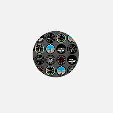 Flight Instruments Mini Button
