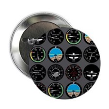 "Flight Instruments 2.25"" Button"