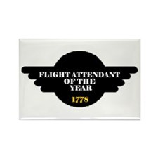 Flight Attendant of the Year Rectangle Magnet