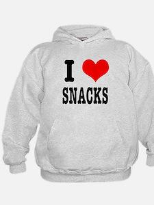 I Heart (Love) Snacks Hoodie