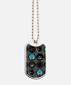 Flight Instruments Dog Tags