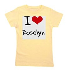 I Love Roselyn Girl's Tee
