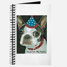 Boston Terrier Me Party Journal