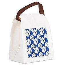 Cute Dog Paws Canvas Lunch Bag