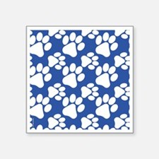 "Cute Dog Paws Square Sticker 3"" x 3"""