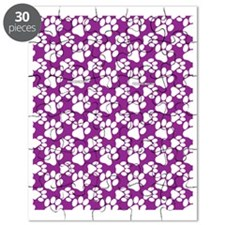 Dog Paws Purple Puzzle
