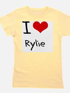 I Love Rylie Girl's Tee