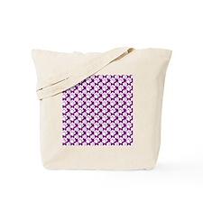 Dog Paws Purple-Small Tote Bag