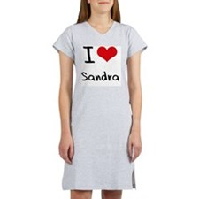 I Love Sandra Women's Nightshirt