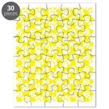 Dog Paws Yellow Puzzle