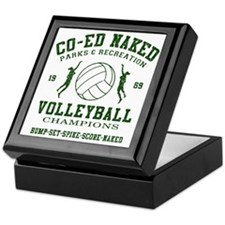 Co-Ed Naked Volleyball Keepsake Box