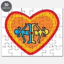 Girls heart Puzzle