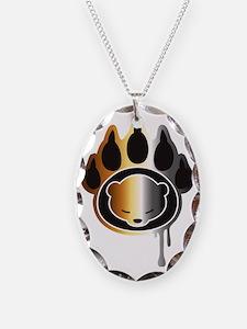 Bear footprint Necklace