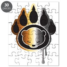 Bear footprint Puzzle