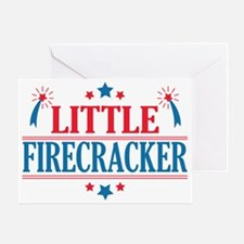 4th of July, Little Firecracker Greeting Card