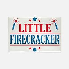 4th of July, Little Firecracker Rectangle Magnet