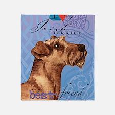 Irish Terrier Throw Blanket
