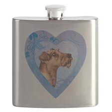 Irish Terrier Flask