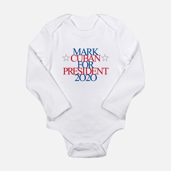 Mark Cuban for President 2020 Body Suit