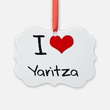 I Love Yaritza Ornament