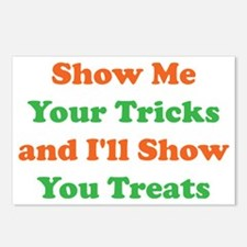 Show Me Your Tricks and I Postcards (Package of 8)