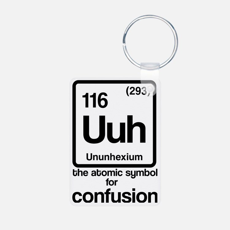 Symbol for Confusion Keychains
