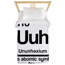 Symbol for Confusion Twin Duvet