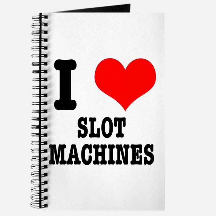 I Heart (Love) Slot Machines Journal