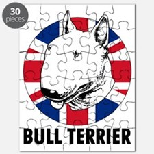 Bull Terrier English flag Puzzle