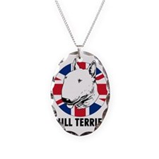 Bull Terrier English flag Necklace