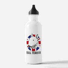 Bull Terrier English f Sports Water Bottle