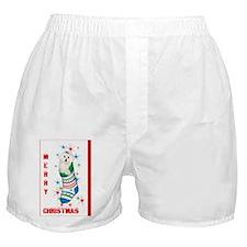 Bichon Christmas Card Boxer Shorts