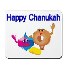 Happy Chanukah Mousepad