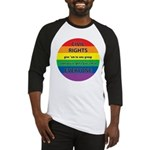 CIVIL RIGHTS EVERYONE Baseball Jersey