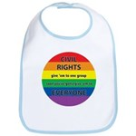 CIVIL RIGHTS EVERYONE Bib