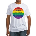 CIVIL RIGHTS EVERYONE Fitted T-Shirt