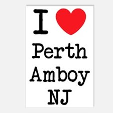 I love Perth Amboy NJ Postcards (Package of 8)