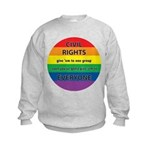 CIVIL RIGHTS EVERYONE Kids Sweatshirt