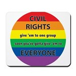 CIVIL RIGHTS EVERYONE Mousepad