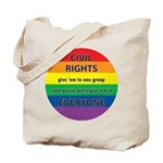 CIVIL RIGHTS EVERYONE Tote Bag