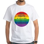 CIVIL RIGHTS EVERYONE White T-Shirt