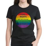 CIVIL RIGHTS EVERYONE Women's Dark T-Shirt