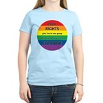 CIVIL RIGHTS EVERYONE Women's Light T-Shirt