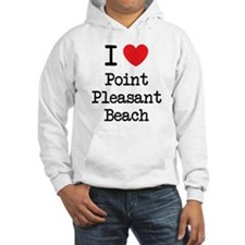 I love Pt Pleasant Beach NJ Hoodie