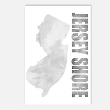 Jersey Shore distressed d Postcards (Package of 8)