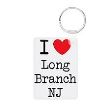 I love Long Branch NJ Keychains