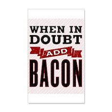 Add Bacon Wall Decal