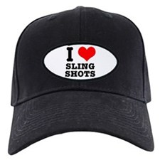 I Heart (Love) Sling Shots Baseball Hat