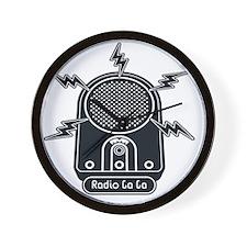 Radio Ga Ga Wall Clock