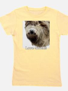 Love Sloths T-shirt Girl's Tee